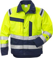 High vis jacket woman class 3 4129 PLU Fristads Medium