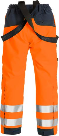 High vis GORE-TEX shell trousers class 2 2988 GXB 3 Fristads  Large