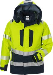 Flamestat high vis GORE-TEX PYRAD® shell jacket class 3 4095 GXE Fristads Medium