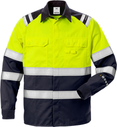 Flamestat High Vis Hemd Kl. 1 7051 ATS Fristads Medium