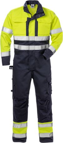 Flamskyddad overall 8084 FLAM, klass 3 1 Fristads  Large