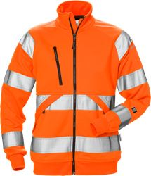 High vis sweat jacket woman cl 3 7427 SHV Fristads Medium