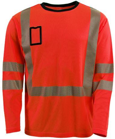 T-paita Pitkähihainen HiVis 1.0 1 Leijona  Large