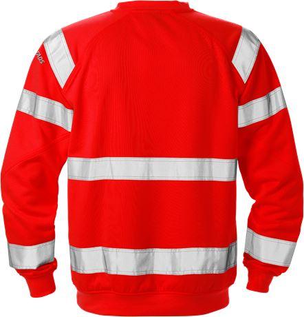 High vis sweatshirt klasse 3 7446 SHV 2 Fristads  Large