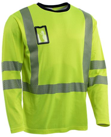T-shirt Long Sleeves HiVis 1.0 3 Leijona Solutions  Large