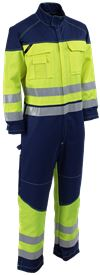 Coverall HiVis FR 1.0 3 Leijona Solutions Small