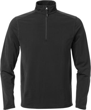 Zipper-Stretch-Sweatshirt 1763 TSP 1 Fristads  Large