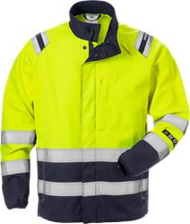 Flamestat high vis softshelljack klasse 3 4016 FSS Fristads Medium