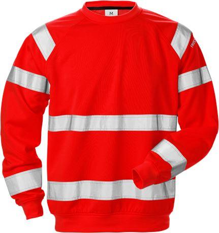 High vis sweatshirt klasse 3 7446 SHV 1 Fristads  Large