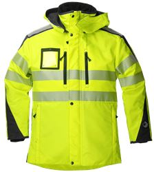 Parka Detachable Lining HiVis 2.0 Leijona Medium