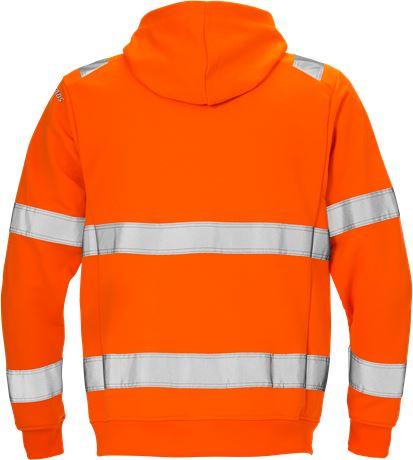 Varsel Sweatshirt-jacka med huva 7408 SHV, kl 3 2 Fristads  Large