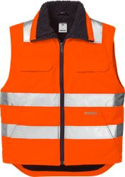 High vis winter waistcoat class 2 5304 PP Fristads Medium