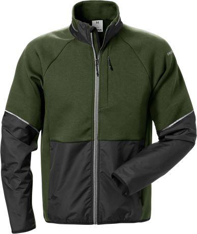 Sweat jacket woman 7512 DF 1 Fristads