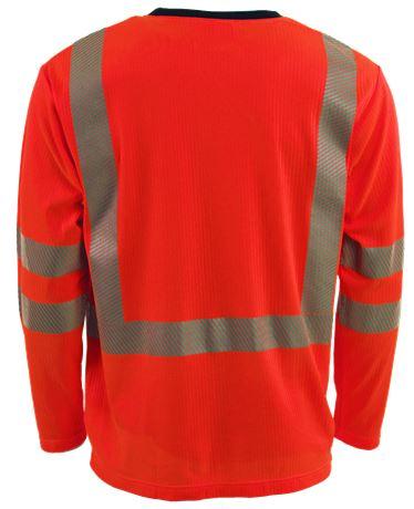 T-shirt, långärmad HiVis 1.0 2 Leijona  Large