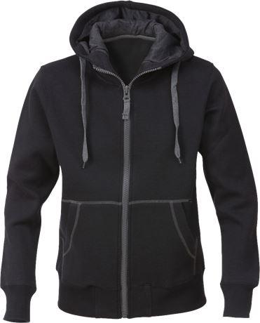 Acode sweatshirt-jacka med huva 1746 DF, dam 1 Acode  Large