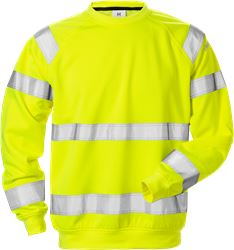 High vis sweatshirt cl 3 7446 SHV Fristads Medium
