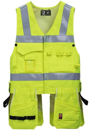Tool Pocket Vest HiVis FR 1.0 2 Leijona  Large