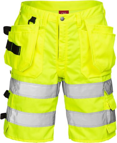 High Vis Handwerkershorts Kl. 2 2028 PLU 1 Kansas  Large