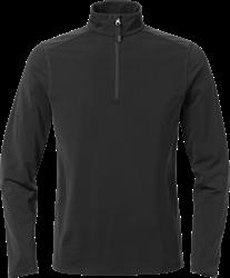 Acode stretch sweatshirt met korte ritssluiting dames 1764 TSP Acode Medium