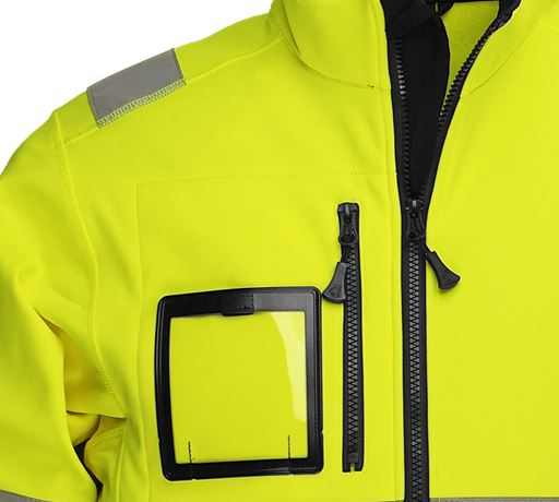 Softshell Jacket HiVis 1.0 3 Leijona  Large