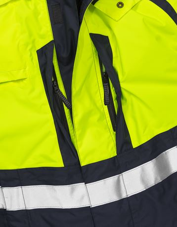 High vis Airtech® shell jacket class 3 4153 MPVX 3 Fristads  Large