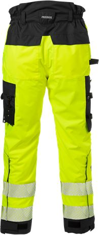 High vis Airtech® shell trousers class 2 2515 GTT 17 Fristads  Large
