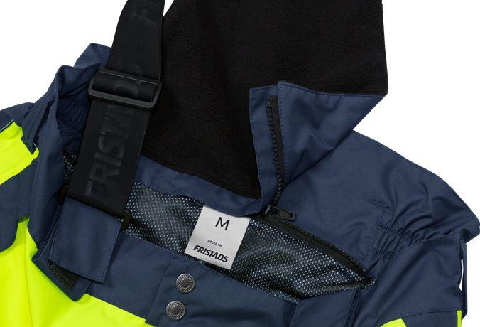 High vis Airtech® shell trousers class 2 2515 GTT 18 Fristads  Large
