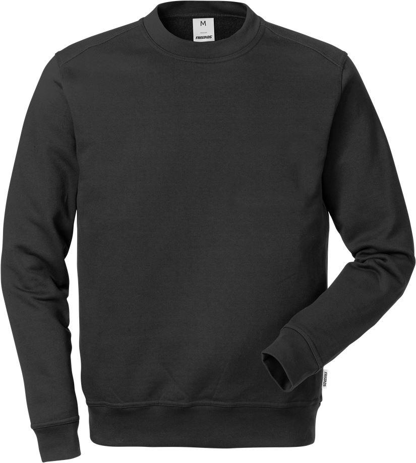 Fristads Men's Sweatshirt 7601 SM, Svart