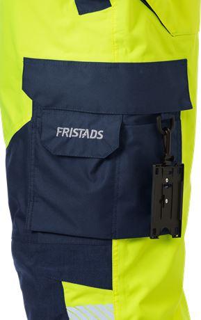 High vis Airtech® shell trousers class 2 2515 GTT 17 Fristads  Large