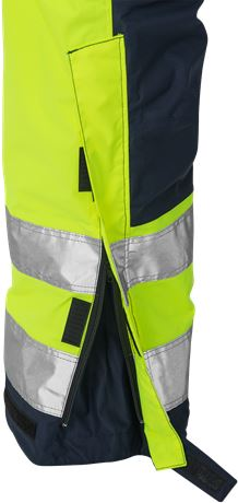 High vis Airtech® winter trousers class 2 2035 GTT 13 Fristads  Large