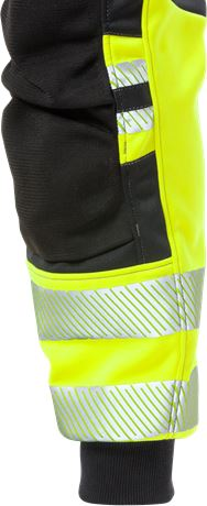 High vis craftsman jogger trousers class 1 2519 SSL 6 Fristads  Large