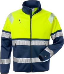 Varsel softshell-jacka 4517 SSL, klass 1 Fristads Medium