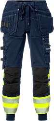 High vis craftsman jogger trousers class 1 2519 SSL Fristads Medium
