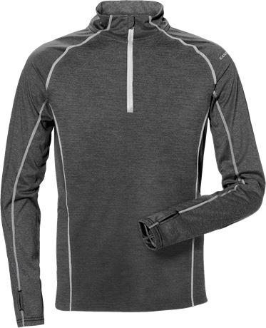 Zipper-Sweatshirt Langarm 7514 LKN 1 Kansas  Large