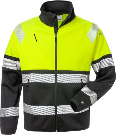High vis sweat jacket class 1 4517 SSL 1 Fristads  Large