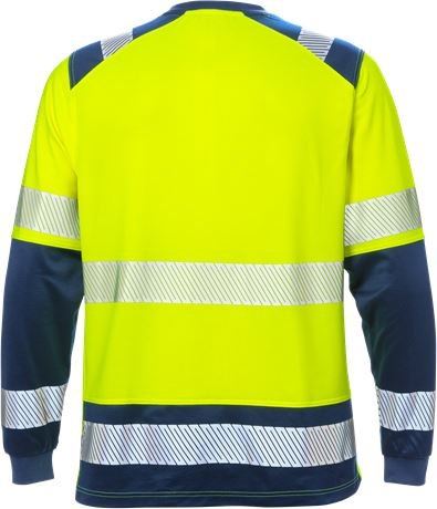 High vis long sleeve t-shirt class 2 7457 THV 2 Fristads  Large