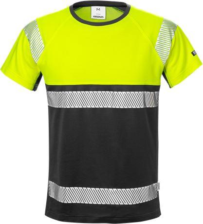Varsel T-shirt 7518 THV, klass 1 1 Fristads  Large