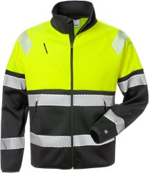High vis sweat jacket class 1 4517 SSL Fristads Medium