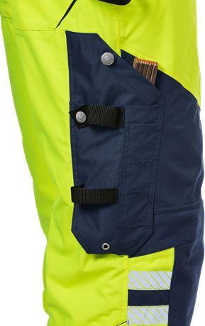 Hi Vis shell trousers class 2, Stormsafe 7 Kansas  Large