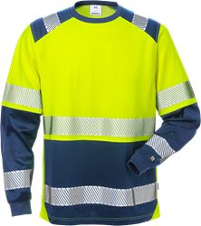 High vis long sleeve t-shirt class 2 7457 THV Fristads Medium
