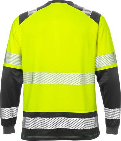 Varsel långärmad T-shirt 7457 THV, klass 2 2 Fristads  Large