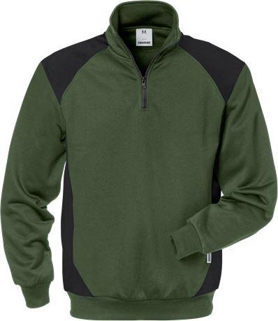 Half zip sweatshirt 7048 SHV 1 Fristads  Large