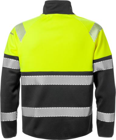 High vis sweat jacket class 1 4517 SSL 2 Fristads  Large