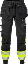 High vis craftsman jogger trousers class 1 2519 SSL 1 Fristads Small