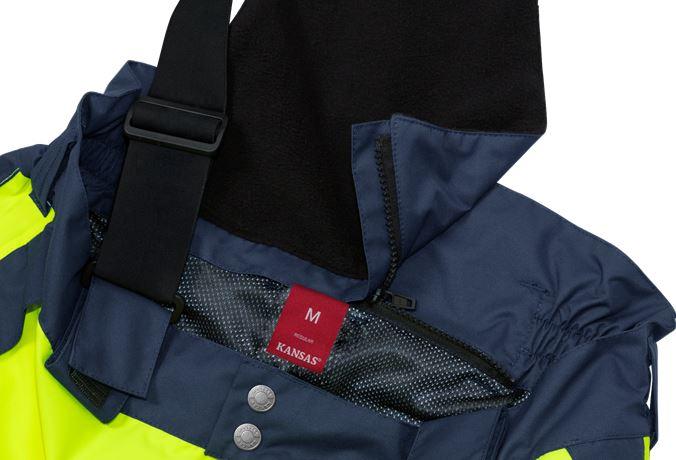 Hi Vis shell trousers class 2, Stormsafe 9 Kansas  Large