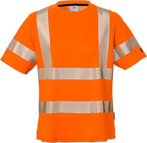 High vis t-shirt woman class 2 7458 THV 1 Fristads  Large