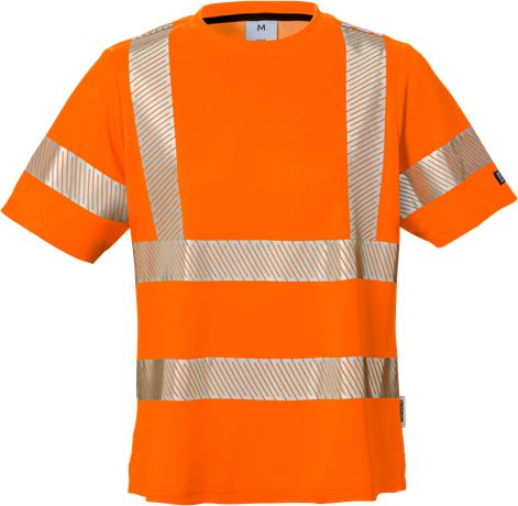 Varsel T-shirt 7458 THV klass 2, dam 1 Fristads  Large