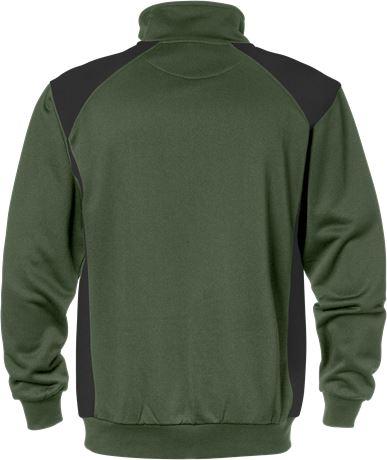 Half zip sweatshirt 7048 SHV 2 Fristads  Large