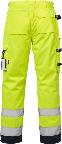 High Vis Handwerkerhose Kl. 2 2025 PLU 2 Kansas  Large