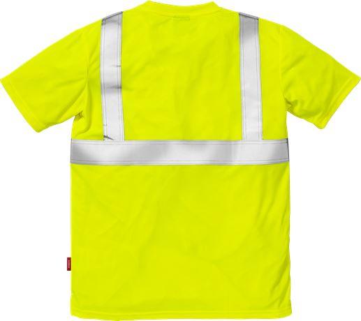 Hi Vis T-shirt kl.2 7411 2 Kansas  Large